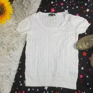 Ralph lauren women shirt top white size XS